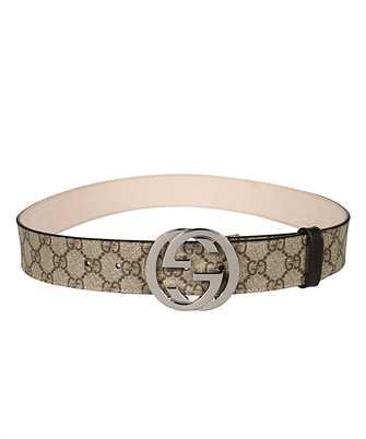 Gucci 411924 KGDHN GG SUPREME Belt