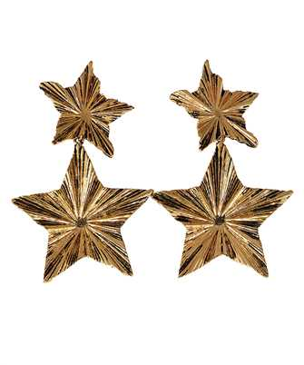 Saint Laurent 633473 Y1500 2 STARS Earrings