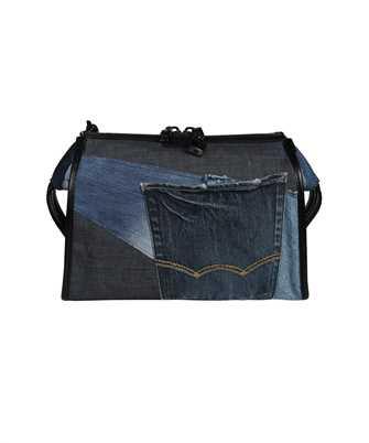 Dolce & Gabbana BM1817 AW347 PATCHWORK DENIM EDGE CROSSBODY Bag