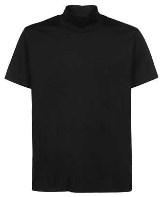 Givenchy BM712G3Y6B 4G EMBROIDERED FUNNEL NECK T-shirt