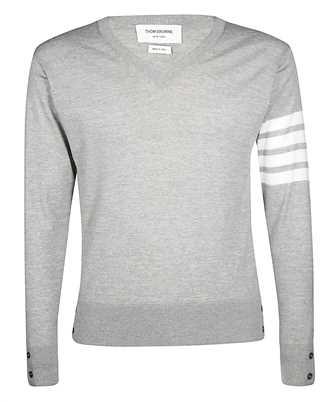 Thom Browne MKA230A-00014 CLASSIC V NECK Knit