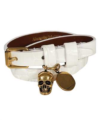 Alexander McQueen 630990 1JM11 DOUBLE WRAP Armband
