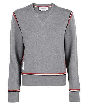 Thom Browne FJT179A 06931 CONTRAST STRIPE FRAMING IN COTTON Sweatshirt