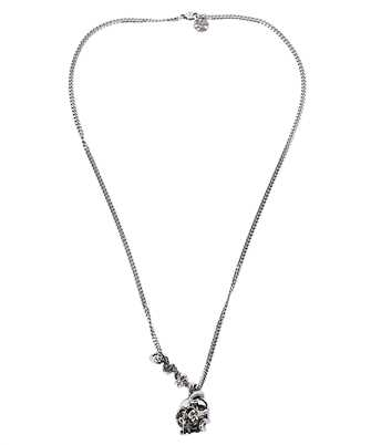 Alexander McQueen 628083 J160Y SKULL AND SNAKE Necklace