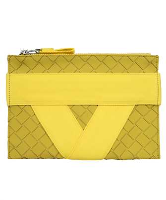 Bottega Veneta 651835 V0GK1 V-SHAPED RIBBON MOTIF Document case