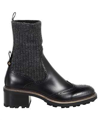 Chloé CHC20W375N4 FRANNE SOCK ANKLE Boots