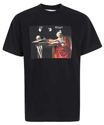 Off-White OMAA038R21JER003 CARAVAGGIO OVER T-Shirt