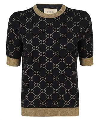 Gucci 526759 X9W83 COTTON LAMÉ Knit