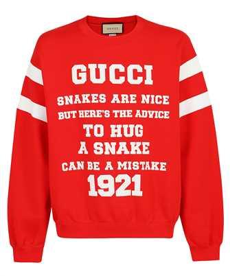 Gucci 655471 XJDHO LIGHT FELTED COTTON JERSEY Sweatshirt