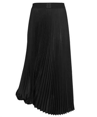 Givenchy BW40H710BR ASYMMETRICAL PLEATED Skirt