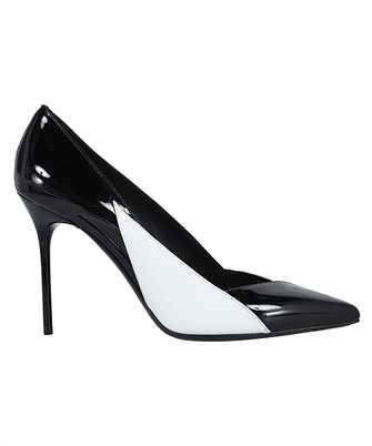 Balmain VN1C608LVNC BICOLOR PATENT LEATHER SIBYL Shoes