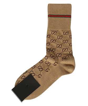 Gucci 572266 4G056 GG PATTERN Socks