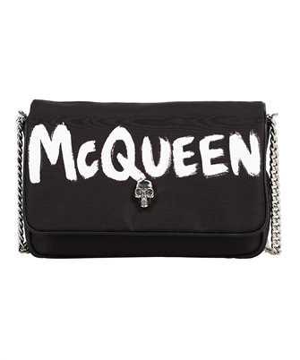 Alexander McQueen 666120 16XAB GRAFFITI NYLON Bag