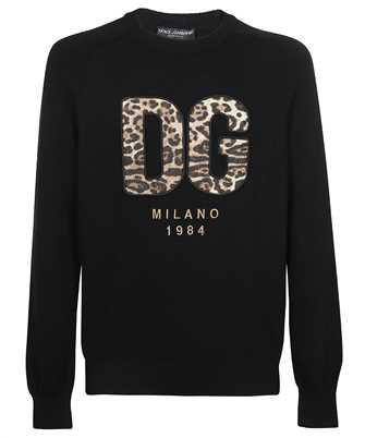 Dolce & Gabbana GXG33Z JAW8Y PATCH AND EMBROIDERY Knit