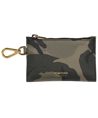 Tom Ford Y0313T ICL022 SMALL ZIP NECK STRAP Wallet