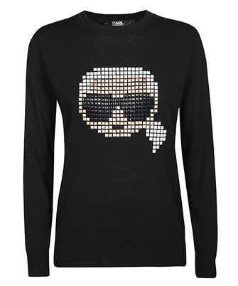 Karl Lagerfeld 201W2011 KARL PIXEL Knit