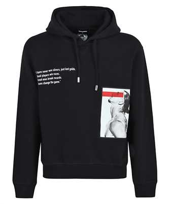 Dsquared2 S79GU0040 S25042 D2xIBRA ICON CHANGE THE GAME Hoodie