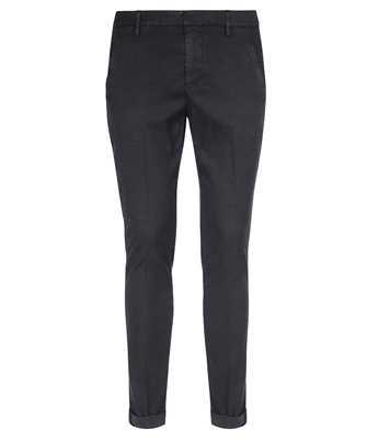 Don Dup UP235 LS0004 BM5 GAUBERT SLIM-FIT SATIN Trousers