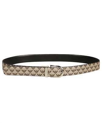 Emporio Armani Y3I182 YFJ5A REVERSIBLE ALL-OVER MONOGRAM Belt
