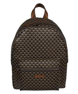 Emporio Armani Y3L105 YFG5E ALL-OVER LOGO Backpack