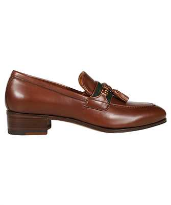 Gucci 624316 1W610 INTERLOCKING G Loafers