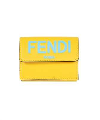 Fendi 8M0395 AHNI MICRO TRIFOLD Wallet