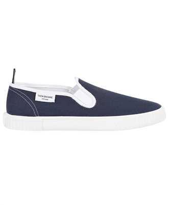 Thom Browne MFL064A 01588 CANVAS SLIP-ON HERITAGE TRAINER Sneakers