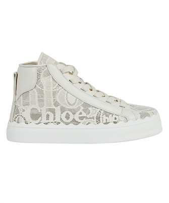 Chloé CHC21S413D2 LAUREN HIGH-TOP Sneakers