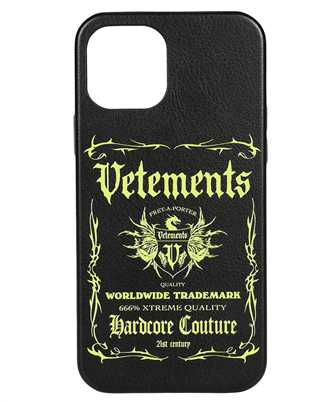 Vetements UA52SA320X BLACK LABEL iPhone 12 PRO cover