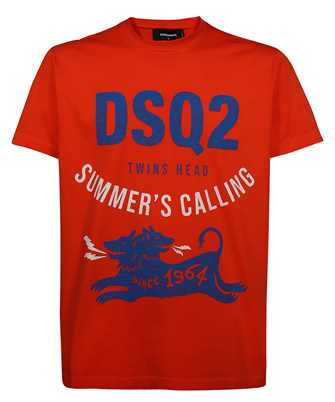 Dsquared2 S71GD1052 S22427 SUMMER CALLING T-shirt