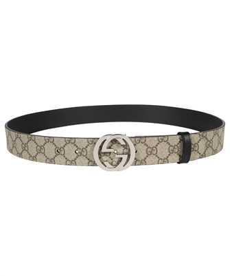 Gucci 473030 KGDHN REVERSIBLE GG SUPREME Belt