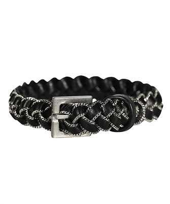 Saint Laurent 607888 DSF7E BRAIDED Bracelet
