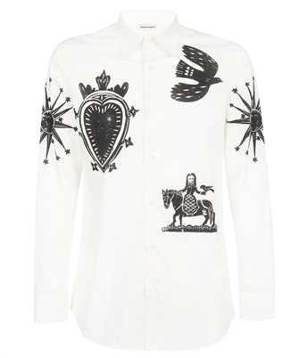 Alexander McQueen 666754 QRO30 PRINTED Shirt