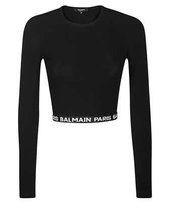 Balmain BPM005010 LOGO CROP T-shirt