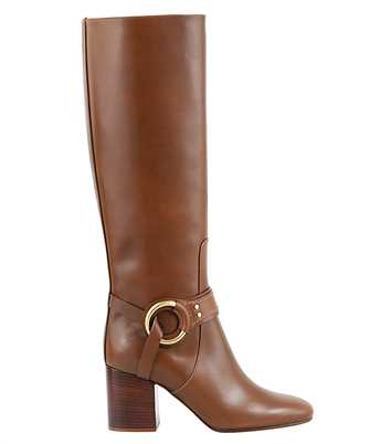 Chloé CHC20A361L4 80mm BUCKLE-DETAIL Boots