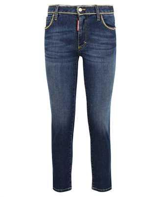 Dsquared2 S75LB0551 S30595 MEDIUM WAIST CROPPED TWIGGY Jeans