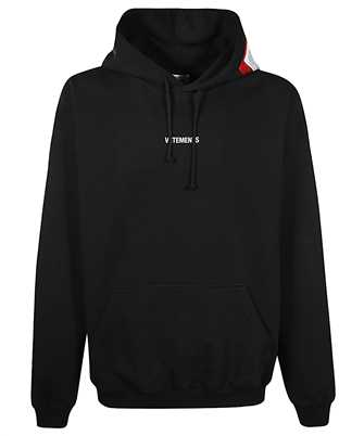 Vetements UE51TR550B LOGO PATCH Kapuzen-Sweatshirt