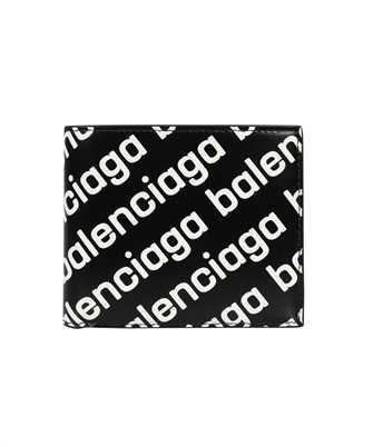 Balenciaga 594315 23V63 CASH SQUARE FOLDED COIN Wallet