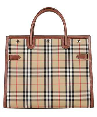 Burberry 8024685 MEDIUM VINTAGE CHECK TWO-HANDLE TITLE Bag