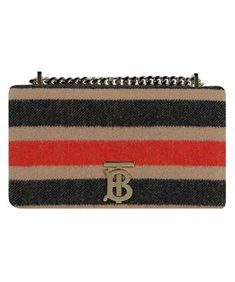 Burberry 8036797 SMALL STRIPED WOOL LOLA Bag