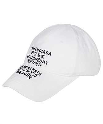 Balenciaga 641238 310B2 LANGUAGES Cap