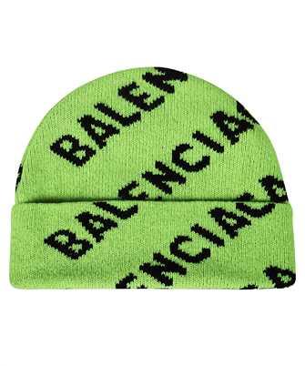 Balenciaga 621021 T1567 ALLOVER LOGO Beanie