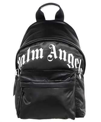 Palm Angels PMNB012F21LEA001 CURVED LOGO Backpack