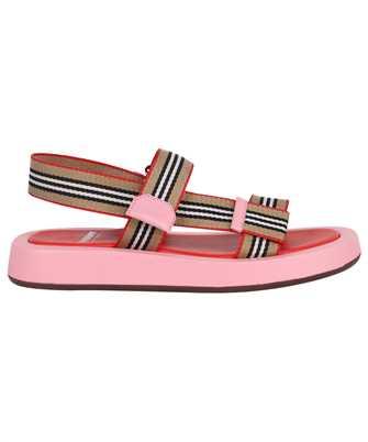 Burberry 8042675 ICON STRIPE STRAP LEATHER Sandals