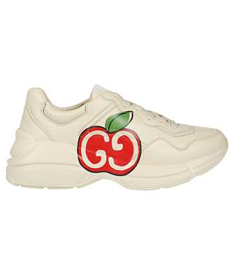 Gucci 609343 DRW00 RHYTON GG APPLE Sneakers