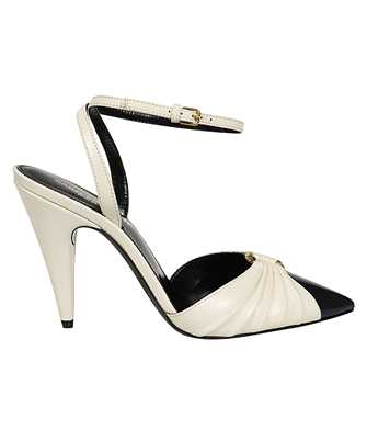 Saint Laurent 639528 1ZJ10 DIANE 95 RING Sandalen