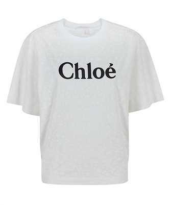 Chloé CHC21SJH83183 LOGO GRAPHIC T-shirt
