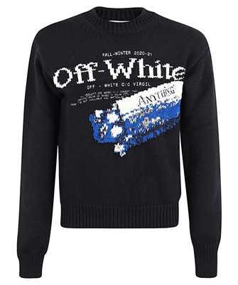 Off-White OMHE054F20KNI001 PASCAL MEDICINE Strick