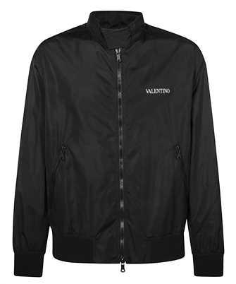 Valentino VV3CIF115AT LOGO PRINT LIGHTWEIGHT Jacket
