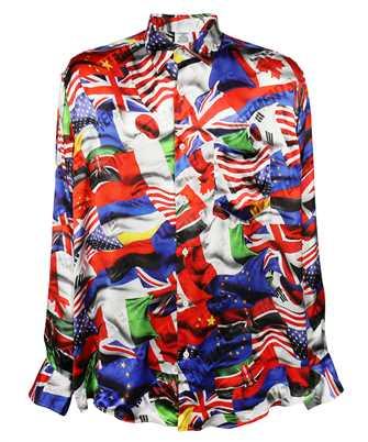 Vetements UA52SH600F FLAGS FLUID Shirt